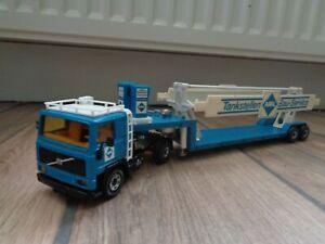 Siku (W.Germany) 3712 Volvo F10 ARAL Articulated Truck , In 1:55, Diecast Model