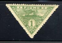 1920 ITALY 1c STAMP🛥️ FIUME FRANCOBOLLO POSTALE PER GIONALI MNHG SC#P4 N2