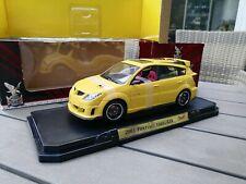 Pontiac Vibe GTR 2003 Amarillo Metálico 1:18 Yat Ming  New IN OVP!!