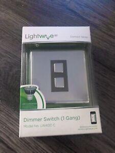 Lightwave 1 Gang Dimmer Switch LW400C - BRAND NEW