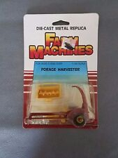 NIP 1986 Ertl Diecast Farm Machines forage harvester 1/64 Scale 1589Aw