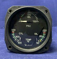 BEECHCRAFT ENGINE GAUGE PN:58-380084-1