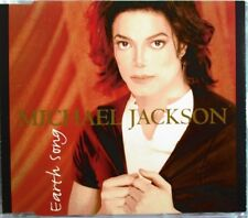 "MICHAEL JACKSON - MAXI CD ""EARTH SONG"" INCLUS ""MJ MEGAREMIX"""