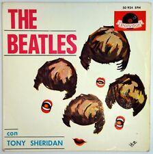 BEATLES & TONY SHERIDAN My bonnie SPAIN EP POLYDOR 50 624 EPH ' EX +
