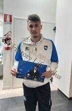 Foto Autografo Calcio Davide Bettella Pescara Asta Beneficenza Sport Coa Signed
