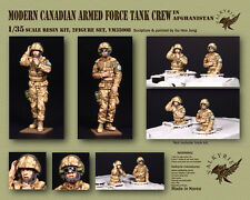 1/35 Scala kit in resina moderno canadese ESERCITO TANK CREW in Afghanistan (2 fig
