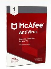 McAfee Antivirus Essential Protection for Your PC 1 Year 1 PC Keycard Only 2018™