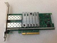 Dell XNPKX Intel E69818 X520-DA2 XNPKX Dual Port 10GbE PCI-E NIC Adpater