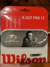 Wilson K-Gut Pro Tennis String - 17 Guage multifilament