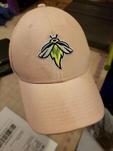 PINK..Womans / Girls..Columbia Fireflies Baseball Cap Hat ...METS Farm Team NWOT