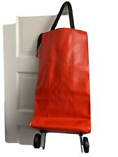 Portable Shopping Bag With Wheels Foldable Trolley Bag Cart Luggage