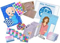 Baby Shower Party Game  -  6 GAMES  -  BLUE/BOY  -  up to 20 players -  FREE P&P