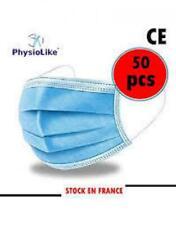 Promo Masque de protection lot de 50, livraison rapide gratuite Stock en France