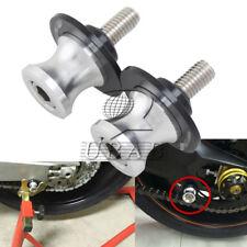 8mm Chrome Motorcycle Swingarm Swing Arm Spool Slider Stand Bobbin for SUZUKI