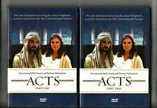 ACTS (2005, 2 DVD) Word For Word From Bible: Part 1 & 2: Christianity
