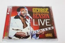 George Benson Live by George Benson CD 2 Disc Set
