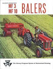 Farm Equipment Brochure - Massey Ferguson - MF 3 10 Baler - c1963 (F5630)