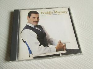 FREDDIE MERCURY The Album CD EUROPEAN PRESS QUEEN