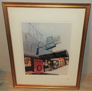"""JJWORLDSTUDIOS Picture """"Continental Club"""" Austin Texas Signed by Artist COA 7X10"""
