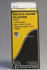 WOODLAND SCENICS MOLD A SCENE PLASTER HO N O ALL GAUGE 2 lbs. train WDS 1202 NEW