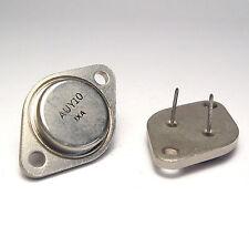 2x PNP Germanium HF Leistungs-Transistor AUY10 / AUY 10, TO3, NOS
