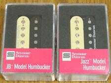 NEW Seymour Duncan JB Jazz Hot Rodded PICKUP SET Humbucker SH-4 SH-2n Zebra