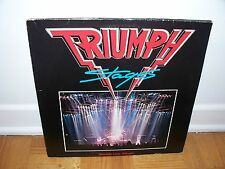 TRIUMPH - STAGES LIVE 2LP *Germany*  (gatefold)