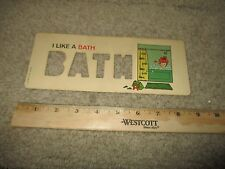 Fisher Price Play School Desk Letter Stencil Card 176 replacement part toy BATH