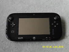 Nintendo Wii U BLACK GAMEPAD HAND-HELD CONSOLE ONLY (PAL) REPLACEMENT
