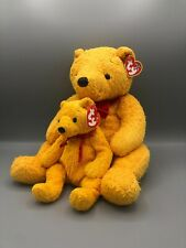 Ty Beanie Buddy and Babies Bundle Poopsie the Bear Pair Plush Stuffed Animal