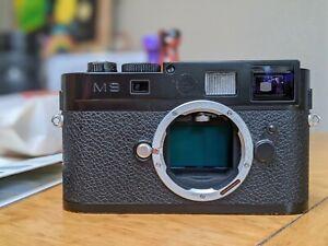 Leica M9 18.0MP Digital Camera - Black (Body Only) please read description
