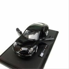 Porsche 911 Model Cars 1:24 Toys Open two doors Collection Alloy Diecast Black