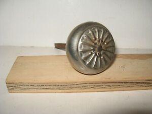 Vintage Ornate Metal Door Knob With Spindle