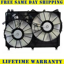 Dual Radiator and Condenser Fan Assembly Cooling Direct For//Fit SZ3115108 06-08 Suzuki Grand Vitara 2.7L L4