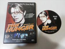 THE HUNGER DAVID BOWIE RIDLEY SCOTT TEMPORADA 2 - EPISODIOS 1-3 DVD ESP ENGLISH