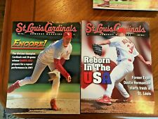 St Louis Cardinals Game Day Magazine 2001 Collection (All 8 Issues)