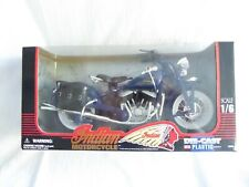 RARE - NEW RAY - 1/6 - INDIAN - 1948 - ROAD CRUISER - MOTO / MOTORBIKE / TOP