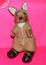 Pluah Australia Zoo CROCODILE HUNTER Movie Rusty the KANGAROO Mascot Stuffed