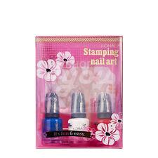 Konad Stamping Nail Art Stone Set +Free Sample