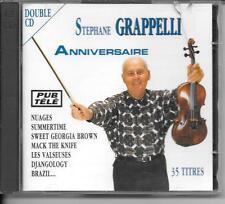 2 CD ALBUM 33 TITRES CLASSIQUE/JAZZ--STEPHANE GRAPPELLI--ANNIVERSAIRE