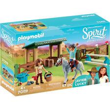 Playmobil 70119 Dreamworks Spirit Riding Free: Riding Arena with Lucky & Javie