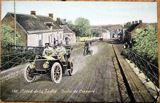 1906 Car/Auto Racing Postcard: French, 'Circuit de la Sarthe' #189