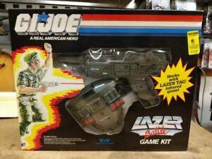 GI Joe Worlds of Wonder lazer laser tag battle game kit new in box NIB complete