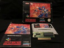 Mega Man 7 Snes Pal Version! Ultra Rare + Good Condition! 100% Original!