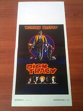 DICK TRACY locandina poster affiche Warren Beatty Madonna Al Pacino Comics Z85