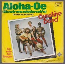 """7"""" Sunshine Band Aloha. - OE (versione cover)/così come un sogno 80`s TELEFUNKEN"""