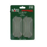 "Kato 2142 123mm 4-7/8"" Straight Track Road Crossing (2) : HO Scale"