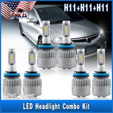 For 2007-2017 Nissan Altima LED Headlight Bulbs High/Low Beam & Fog Light H9 H11