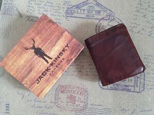 Jack Kinsky Darwin 100 Vintage Geldbörse