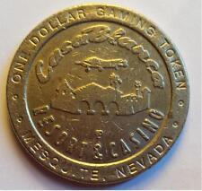 $1 Slot Token CasaBlanca Resort & Casino Dollar Gaming Token Rare Find